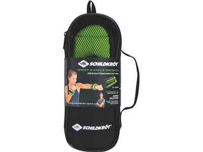 Schildkröt Fitness Gewichtsmanschette Arm-Bein 0,5kg Set Grün