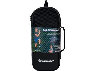 Schildkröt Fitness Gewichtsmanschette Arm-Bein 2,0kg Set Grau