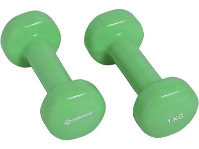 Schildkröt Fitness Vinyl Hanteln 1,0kg Set Grün