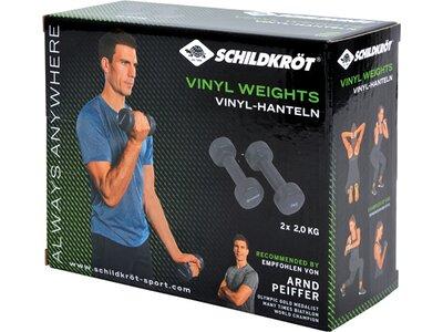 Schildkröt Fitness Vinyl Hanteln 2,0kg Set Grau