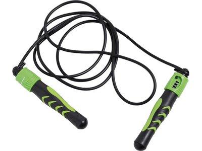 Schildkröt Fitness Springseil mit Zählfunktion Jumping Rope Schwarz