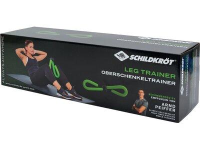 Schildkröt Fitness Oberschenkel Trainer / Leg Trainer Grün