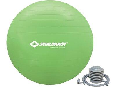 Schildkröt Fitness Gymnastikball 65cm Grün