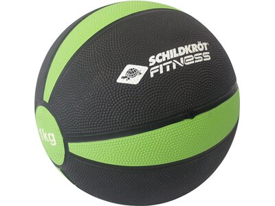 Schildkröt Fitness Medizinball - 1,0 kg Grau