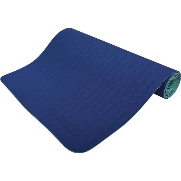 Schildkröt Fitness Yogamatte 4mm BICOLOR - Navy/Mint