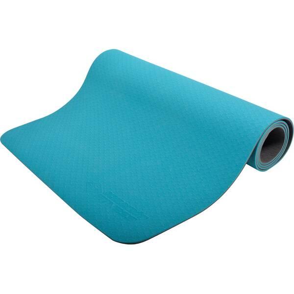 Schildkröt Fitness Yogamatte 4mm BICOLOR - Petrol/Anthrazit