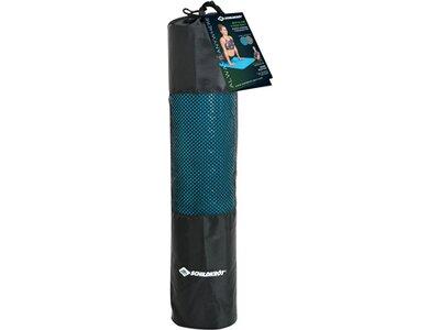 Schildkröt Fitness Yogamatte 4mm BICOLOR - Petrol/Anthrazit Blau