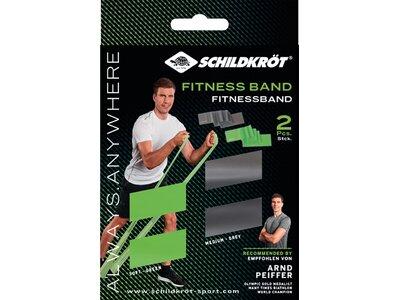 Schildkröt Fitness Fitnessbänder 2er Set - LATEXFREI Grün