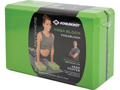 Schildkröt Fitness Yoga Block Grün