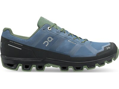 ON Herren Laufschuhe Cloudventure Waterproof Blau