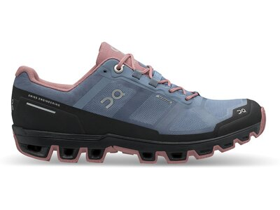 ON Damen Laufschuhe Cloudventure Waterproof Blau