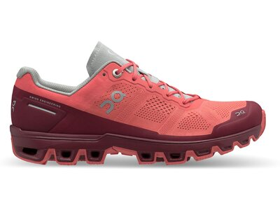 ON Damen Laufschuhe Cloudventure Rot