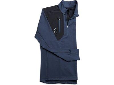"ON Herren Laufshirt ""Weather Shirt"" Langarm Blau"