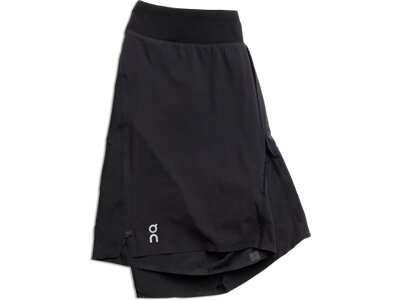 ON Running Lightweight Shorts Schwarz