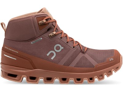 ON Laufschuhe Cloudrock Waterproof Rot