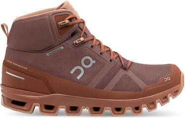 ON Damen Wanderschuhe Cloudrock Waterproof