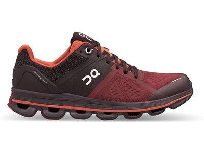 ON Damen Laufschuhe Cloudace Rot