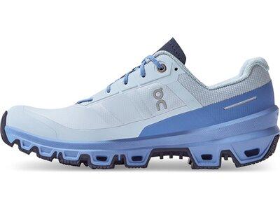 ON Damen Laufschuhe Cloudventure Blau