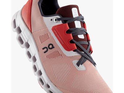 ON Damen Laufschuhe Cloudstratus Rot