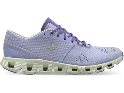 "ON Damen Laufschuhe ""Cloud X"" Lila"