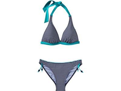 ESPRIT SPORTS Damen Bikini SET WIRELESS Blau