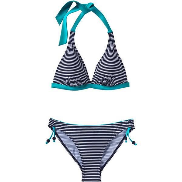 Bademode - ESPRIT SPORTS Damen Bikini SET WIRELESS › Blau  - Onlineshop Intersport