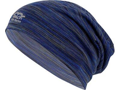 P.A.C. Herren Merino Beanie Blau