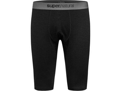 SUPER.NATURAL Herren Hose M BASE SHORT TIGHT 175 Schwarz