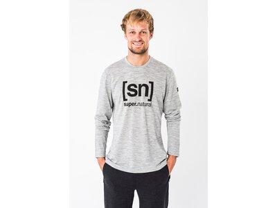 SUPER.NATURAL Herren Shirt M ESSENTIAL I.D. Grau