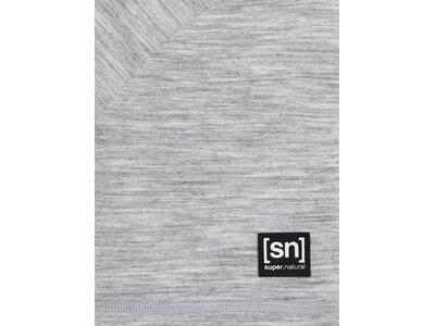 SUPER.NATURAL Herren Shirt ESSENTIAL SS Silber