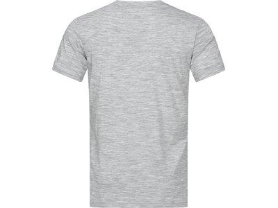 SUPER.NATURAL Herren T-Shirt M LOGO TEE Silber