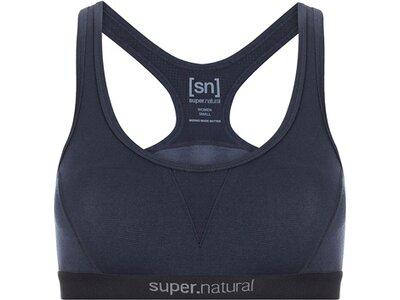 SUPER.NATURAL Damen Bra W SEMPLICE BRA 220 Blau