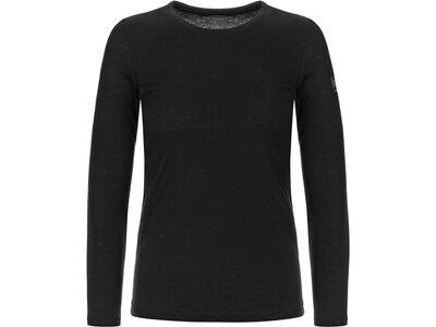 SUPER.NATURAL Damen Shirt BASE CREW NECK 230 Schwarz