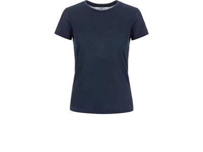 SUPER.NATURAL Damen T-Shirt W BASE TEE 140 Blau