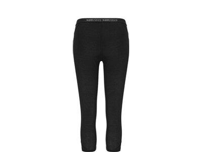 SUPER.NATURAL Damen Hose W BASE 3/4 TIGHT 175 Schwarz