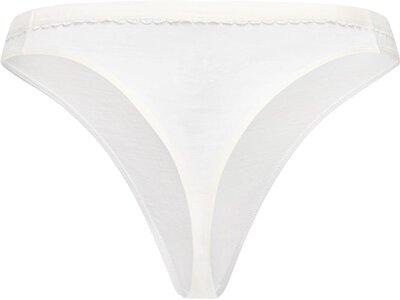 SUPER.NATURAL Damen Unterhose LESLIE THONG Weiß