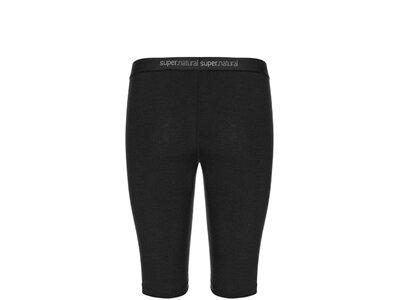SUPER.NATURAL Damen Hose W BASE SHORT TIGHT 175 Schwarz