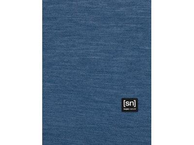 SUPER.NATURAL Damen Shirt ISLA Blau