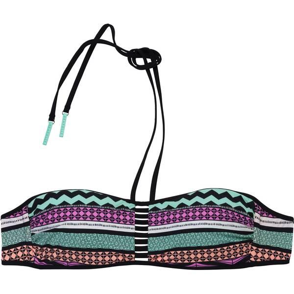 Bademode - SEAFOLLY Damen Bikinioberteil Future Tribe Bandeau › Bunt  - Onlineshop Intersport