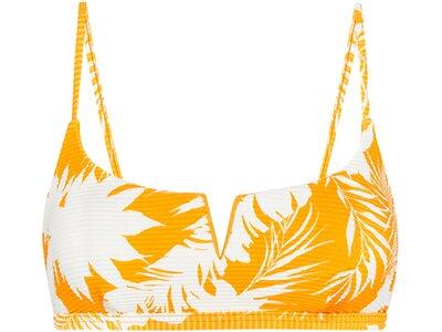 SEAFOLLY Damen Bikinioberteil Wild Tropics V Wire Bralette Orange