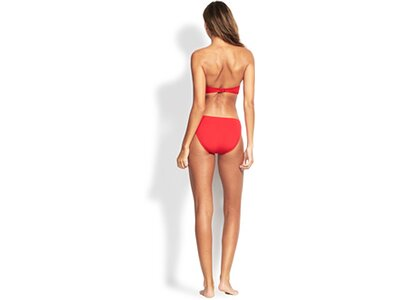 "SEAFOLLY Damen Bikinioberteil ""Ruched Bandeau"" Rot"