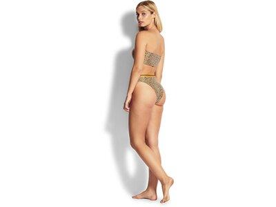 SEAFOLLY Damen Bikinioberteil Spirit Animal Tube Top Gelb