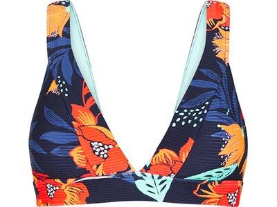 SEAFOLLY Damen Bikinioberteil On Vacation Banded Tri Bra Blau