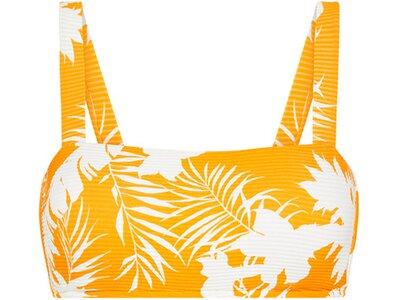 SEAFOLLY Damen Bikinioberteil Wild Tropics Bandeau Bra Orange