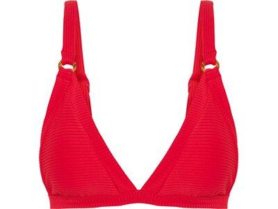 SEAFOLLY Damen Bikinioberteil Summer Sea Bound Tri Bra Rot