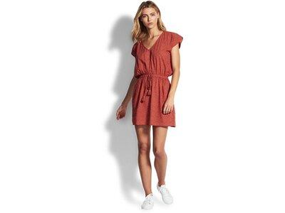 SEAFOLLY Damen Bluse Textured Cotton Kaftan Braun