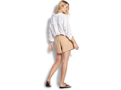 SEAFOLLY Damen Hemd BEACH EDIT Classic Beach Shirt Weiß