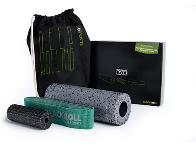 BLACKROLL ® INTERSPORT RUNNING BOX Schwarz