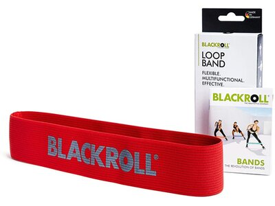 BLACKROLL Fitnessband Loop Band Rot Rot