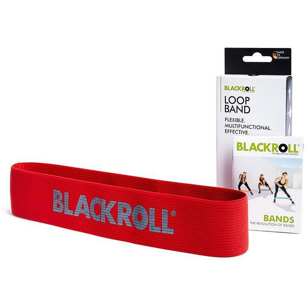 BLACKROLL Fitnessband Loop Band Rot